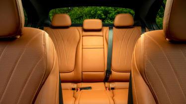 Mercedes C-Class saloon centre rear seat