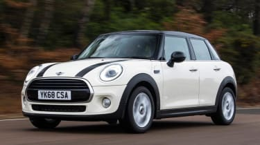 MINI Cooper Classic front 3/4 dynamic view