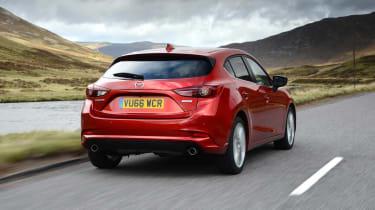 The rear is not quite so imaginatively styled, but still looks the part