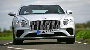 Bentley Continental GT front cornering