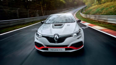 Renault Megane RS Trophy-R at the Nurburgring