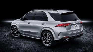2019 Mercedes GLE rear