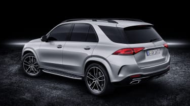 2019 Mercedes GLE rear