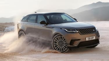 The Velar is available with three diesel engines and two petrols