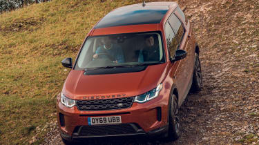 Land Rover Discovery Sport hill descent