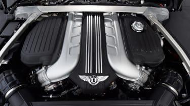 Bentley Continental GT engine bay