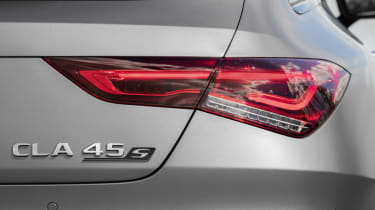 2019 Mercedes-AMG CLA 45 S Shooting Brake - rear light close up