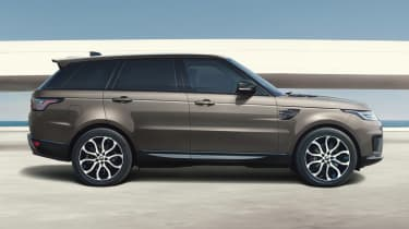 Range Rover Sport HSE Silver side view