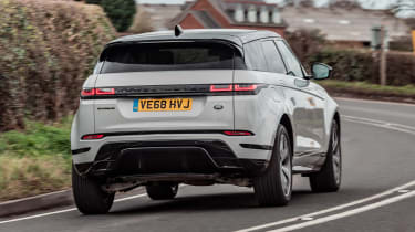 Range Rover Evoque SUV rear cornering