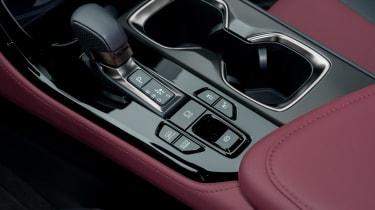 Lexus NX SUV gear selector