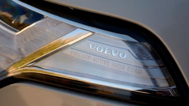 The Volvo XC90 is well-equipped with, LED headlights fitted as standard
