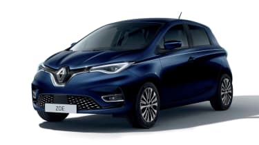 Renault ZOE Riviera Limited Edition - front 3/4 static
