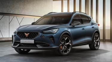Cupra Formentor front end
