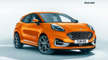2020 Ford Puma ST - render images