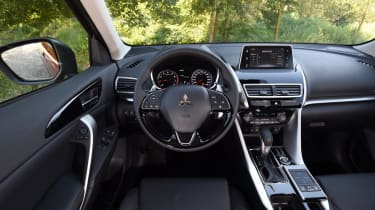 The Eclipse Cross has what is the best looking dashboard yet seen in a Mitsubishi sold in the UK