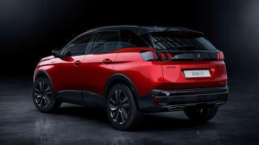 2020 Peugeot 3008 - rear 3/4 static
