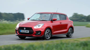 Suzuki Swift Sport mild-hybrid driving