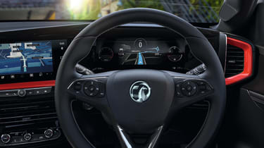 2021 Vauxhall Mokka SRi - interior