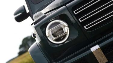 Mercedes G-Class SUV headlights