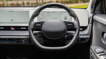 Hyundai Ioniq 5 drive - interior