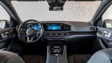 Mercedes GLS SUV interior