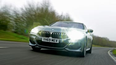 BMW 8 Series Gran Coupe saloon headlights
