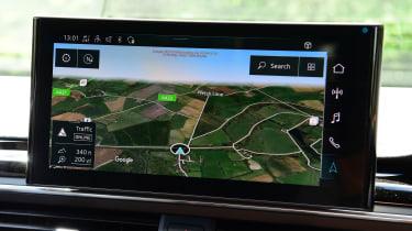 Audi S5 Sportback infotainment display