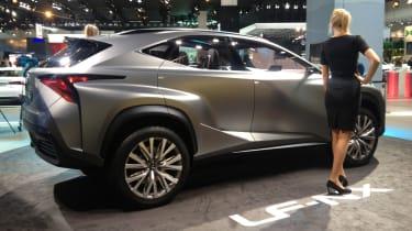 Lexus LF-NX concept rear quarter static