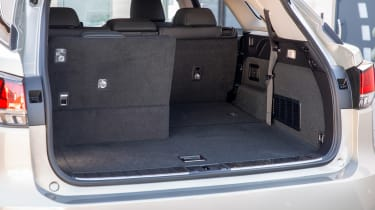 Lexus RX L SUV boot with six seats