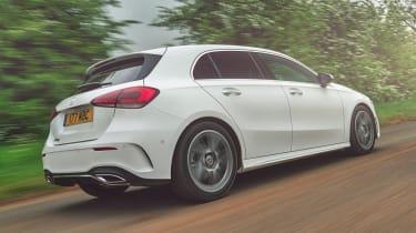 Mercedes A-Class AMG Line - rear 3/4 driving