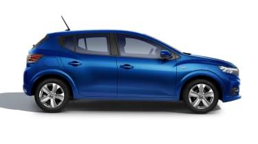 New Dacia Sandero side view
