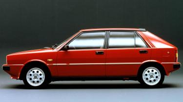 Lancia Delta HF Turbo side