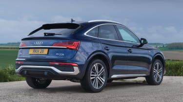 Audi Q5 Sportback SUV - rear 3/4 view