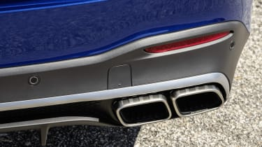 Mercedes-AMG GLE 63 S - exhaust close up view