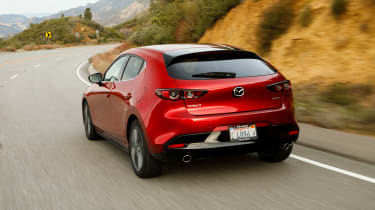 Mazda3 rear driving