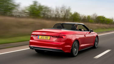 The Audi A5 Cabriolet doesn't look drastically different to the old one from the outside but under the body there's a lot tha