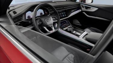 Audi Q7 SUV facelift steering wheel