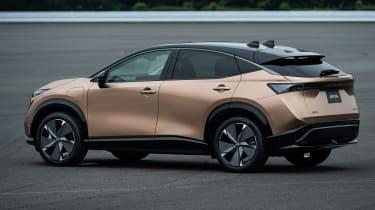 Nissan Ariya rear/side view