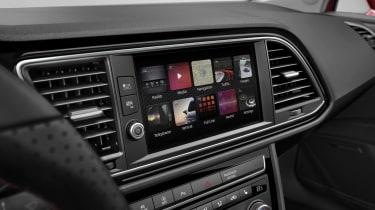 SEAT Leon touchscreen