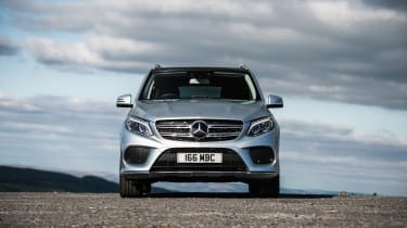 The GLE 500e is the plug-in hybrid model of the Mercedes GLE range