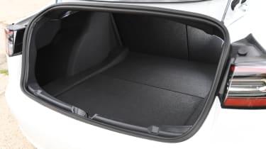 Tesla Model 3 - boot space