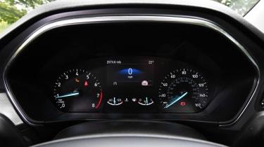 Ford Focus hatchback instrument cluster