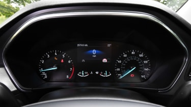 Ford Focus hatchback instrument cluster