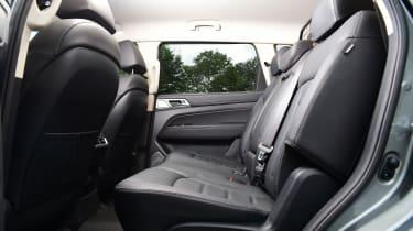 SsangYong Rexton SUV rear seats