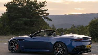 Aston Martin DBS Superleggera Volante side static