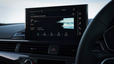 Audi S5 Coupe infotainment display
