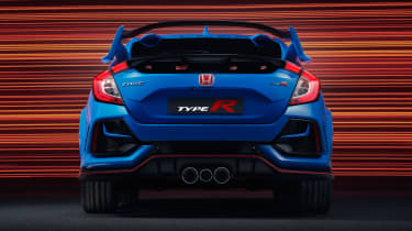 Honda Civic Type R GT - rear end