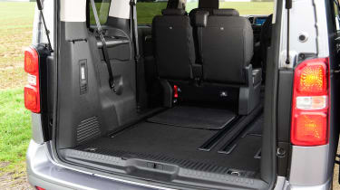 Citroen SpaceTourer MPV luggage space