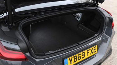 BMW M8 Convertible boot