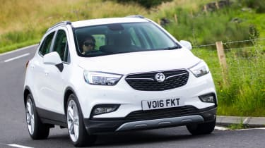 The Vauxhall Mokka X is a crossover which takes on models like the Jeep Renegade, Renault Captur and Mazda CX-3